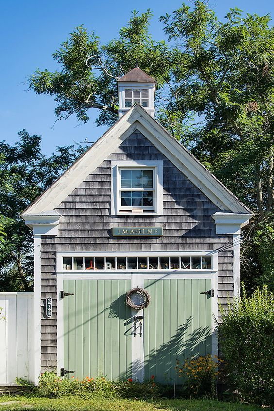 160 best images about garages carriage houses on for Carriage house shed