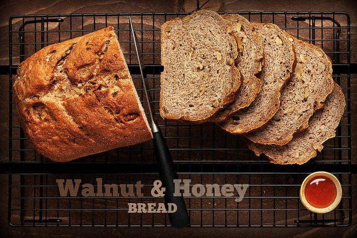 Walnut & Honey Bread