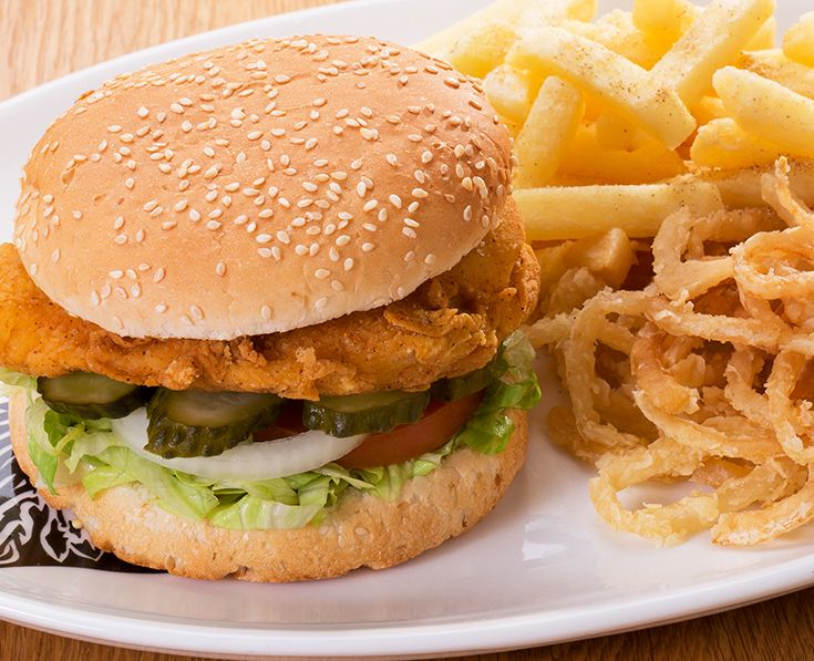 Texan-fried Chicken Burger: A chicken breast coated in Texan-chilli batter and deep fried until golden. Served with sweet chilli dressing. Read more: https://www.spur.co.za/menu/burgers/