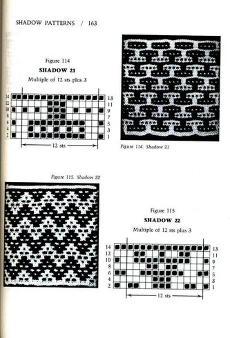 Mosaic Knitting Barbara G. Walker (Lenivii gakkard) Mosaic Knitting Barbara G. Walker (Lenivii gakkard) #168
