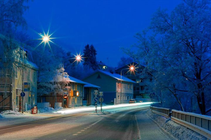 Tampere...blue hour ...photo/ Piia Anneli