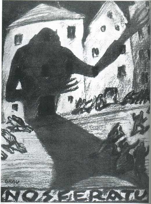 Nosferatu (1922) (Germany) Confira os nossos artigos dedicados aos Filmes de Terror em http://mundodecinema.com/category/filmes-de-terror/