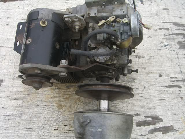 25 2pg Ez Go Gas Golf Cart 244cc Motor Engine E Z Go 1980