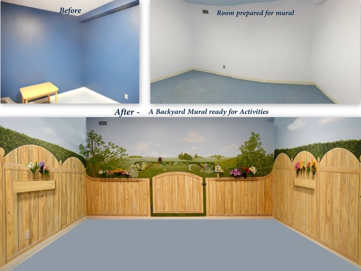 When A Client Asked Us To Turn This Alzheimer Flooru0027s Extra Room Into A  Backyard Setting For Activities, This Is What We Did   Following Known  Guidelines ...