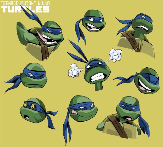 Teenage Mutant Ninja Turtles (2012) concept art.