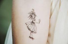 Afbeeldingsresultaat voor little girl tattoo