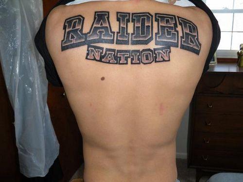 45 best raider tattoo 39 s images on pinterest raider for Raider nation tattoos