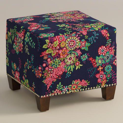 One of my favorite discoveries at WorldMarket.com: Moona McKenzie Ottoman