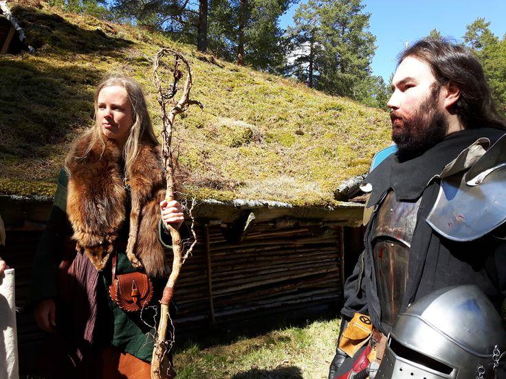 Lirulin och Alaric.