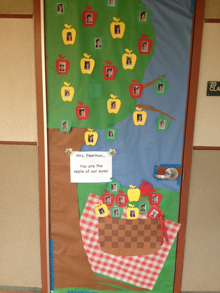 25 best ideas about picnic bulletin boards on pinterest for Apple tree classroom decoration