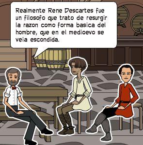 Realmente Rene Descartes fue un filosofo que trato de resurgir la razon como forma basica del hombre, que en el medioevo se veia escondida.