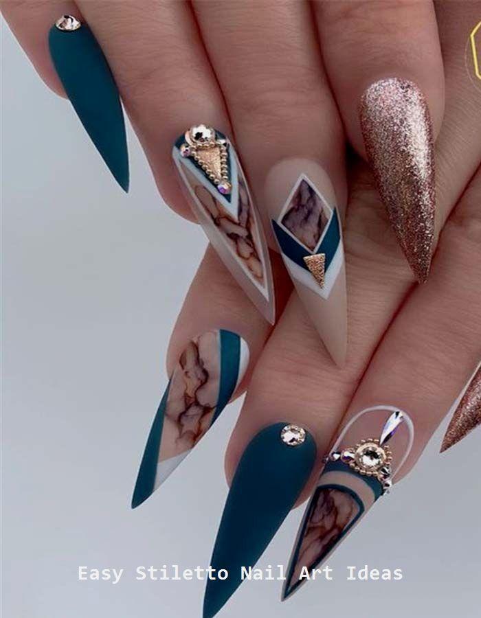30 Ideen für ein großartiges Stiletto-Nageldesign #stilettonails #nailideas – Nageldesign