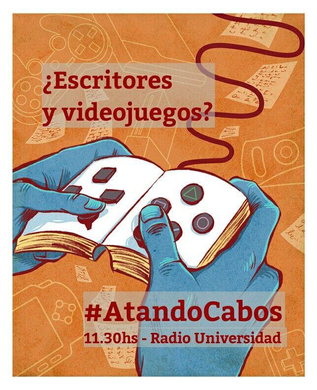 Los escritores más taquilleros se están dedicando a una industria insospechada.  Hoy atamos una cosa con otra en #AtandoCabos por Radio Universidad.   Vamos alrededor de las 11.30hs y se escucha por el 106.9 del dial o por internet en http://radiounvm.listen2myradio.com/