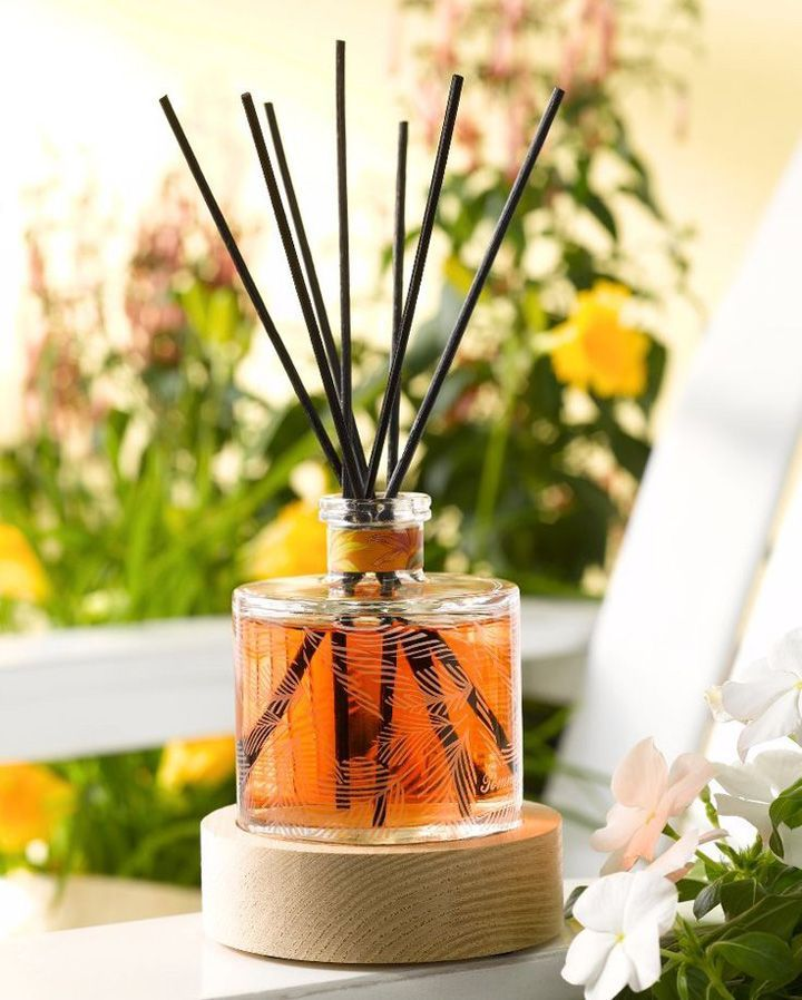Aromatizador de ambiente caseiro - Difusor com varetas - Blog de decoração - Reciclar e Decorar