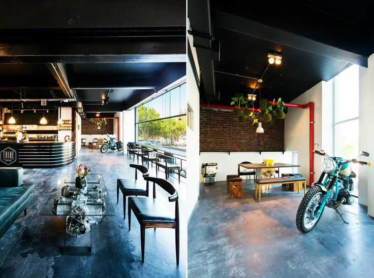 BMW Motorrad dealership x Tribe Coffee Roasters in Cape Town
