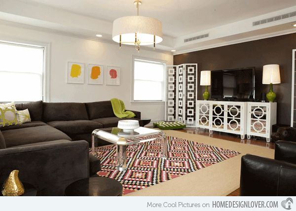 20 Incredibly Eclectic Living Room Designs | Colours, Eyes and ...