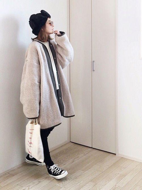 BONAPETITのその他アウター「BONAPETIT (ボナペティ) newボアコート」を使ったmayumiのコーディネートです。WEARはモデル・俳優・ショップスタッフなどの着こなしをチェックできるファッションコーディネートサイトです。