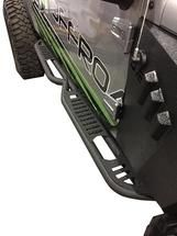 DV8 Offroad SR-6 Rock Slider Steps- 4 Door (Wrangler JK 2007+)