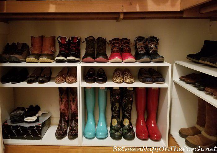 Boot Storage, Hunter Boots, Sperry Du