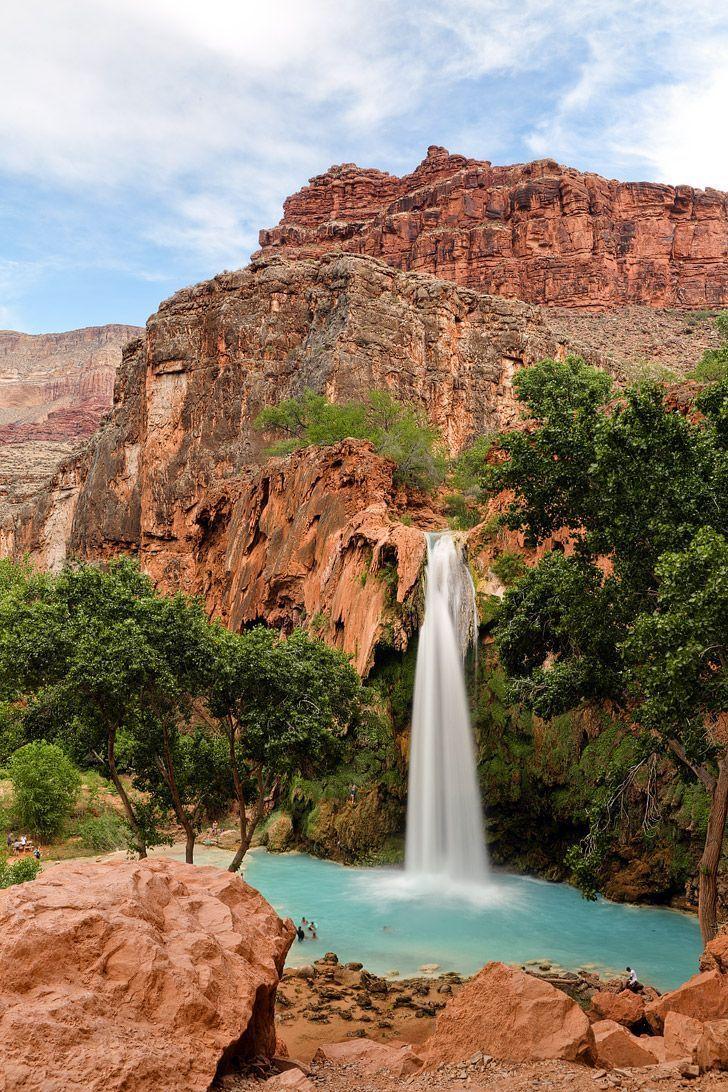 Havasu Falls, Havasupai Indian Reservation, Arizona // localadventurer.com