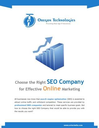 There are numerous top SEO companies in today's market place. Choosing the right company from them is a bit confusing. Here are a few important considerations to take when choosing the right #SEOcompany.