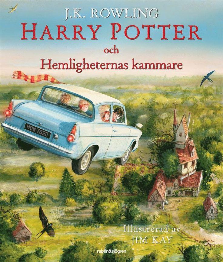 Harry Potter och Hemligheternas kammare (Ilustrerad)