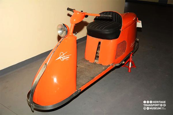 Another amazing Salsbury Scooter!  #HTM #Salsbury #Scooter #Vintage