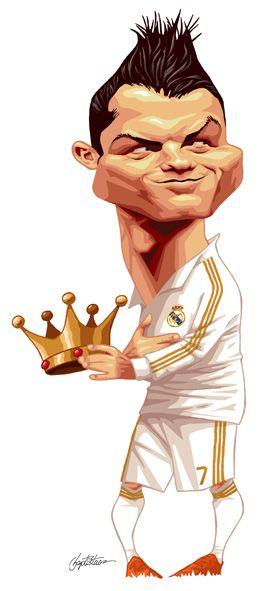 Cristiano Ronaldo #CR7 #KING #RealMadrid