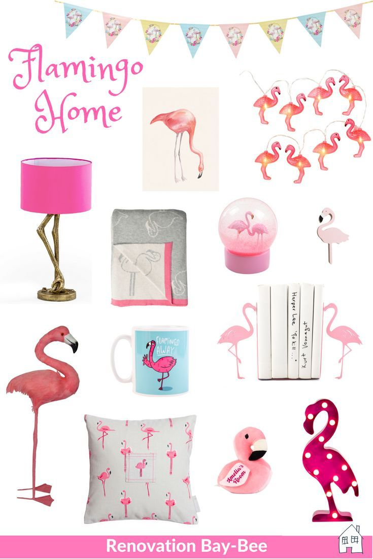 Do you love Flamingos? Then take a look at this great mood board with all things Flamingo interiors! Great for bringing that Flamingo love into your home