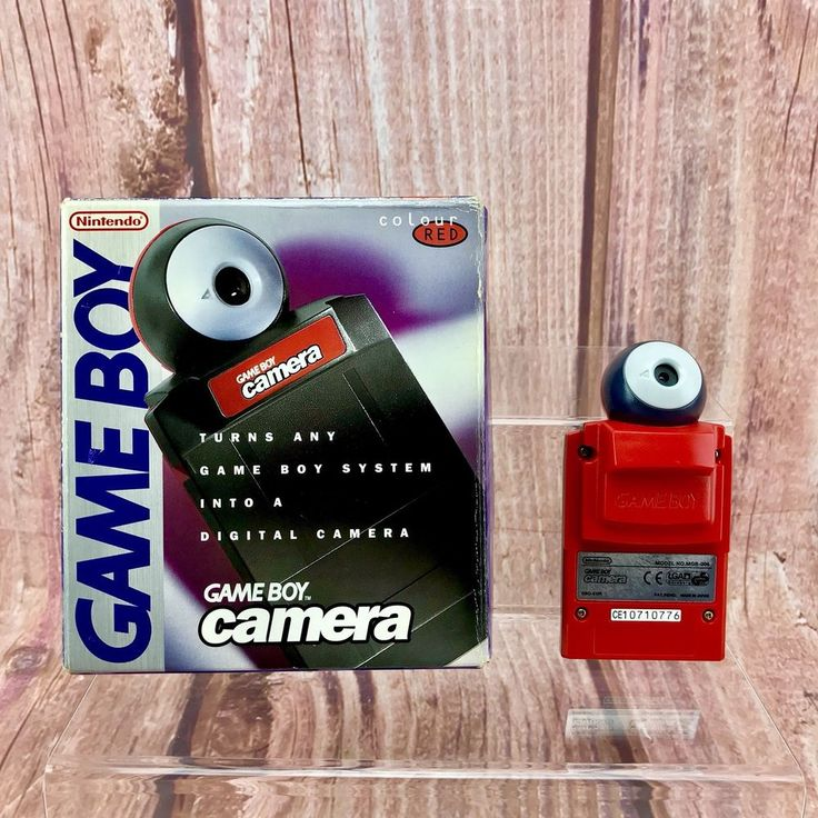 Nintendo Gameboy Camera Red for Nintendo Game boy Boxed Great Condition