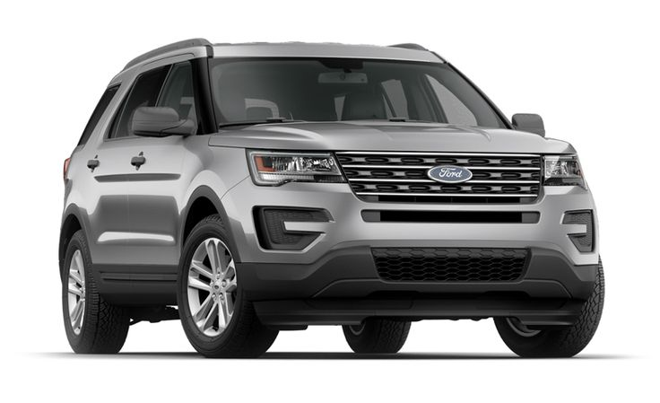 Ford Explorer | $32-54 | 17/24 mpg |   3 Rows