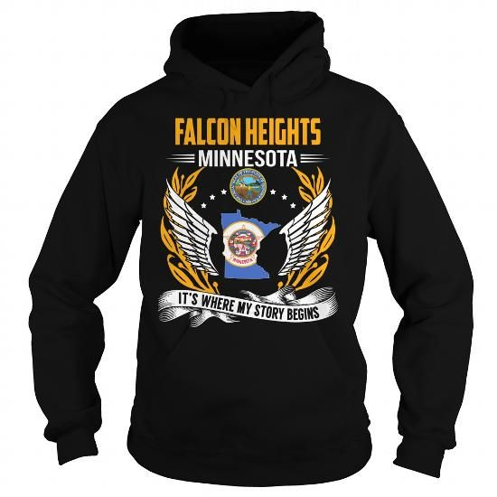 Cool #TeeForFalcon Heights Falcon Heights,… - Falcon Heights Awesome Shirt - (*_*)