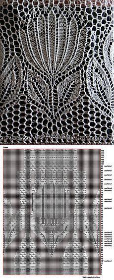 Узоры вязаные спицами | Записи в рубрике Узоры вязаные спицами | Дневник NataDemure