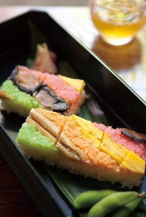 箱寿司:Osaka style Sushi