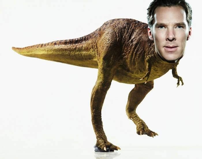 Benedict Cumber-t-rex and other fun stuff from the Pintesters