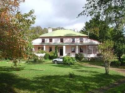 Historic Atherfield House at New Norfolk in Tasmania, Australia