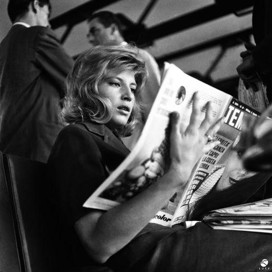 L'immensa Monica Vitti, Roma, 1961