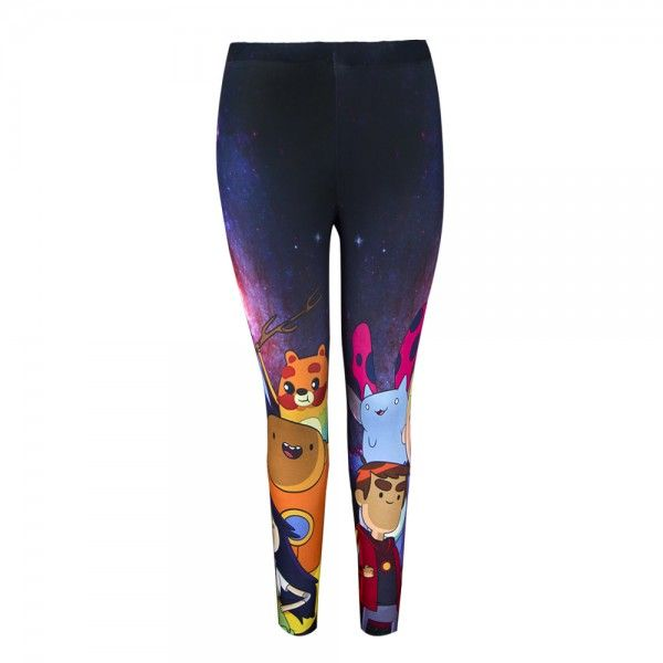 Bravest Warriors Cosmic Group Leggings