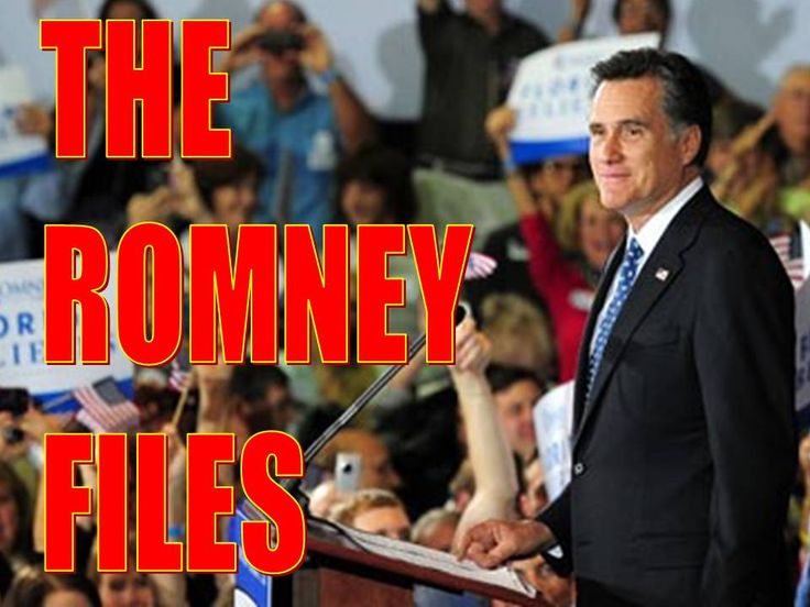 "Willard  Milton ""Mitt"" Romney    is the former governor of Massachusetts and a candidate for the Republican presidential nomination..."
