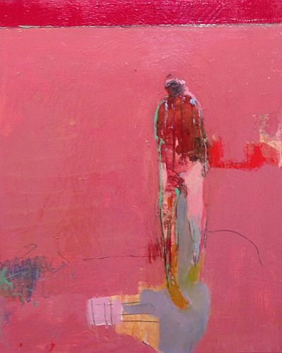 Chris Gwaltney  Untitled 2 oil on panel 20 x 16 in.                                                          Love his work!
