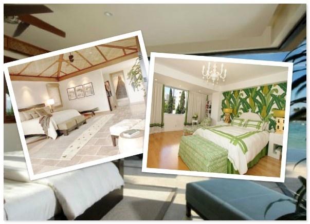 Тропический дизайн спальной комнаты  http://styldoma.ru/interer/dizajn-spal-noj-komnaty