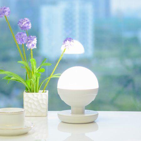 ANNT Stepless Fingerprint Touch Night Lights Lamp LED Night Light, Reading Lights Camping Lamp for Babyroom, Bedroom, Nursery, Outdoors