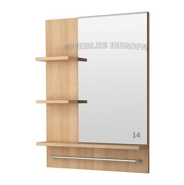 Las 25 mejores ideas sobre espejos para ba os en pinterest for Espejos modernos en madera