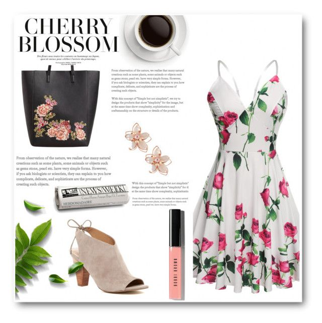 """DressLink Going Out Dresses"" by fannnn on Polyvore featuring MANGO, Franco Sarto, NAKAMOL and Bobbi Brown Cosmetics"