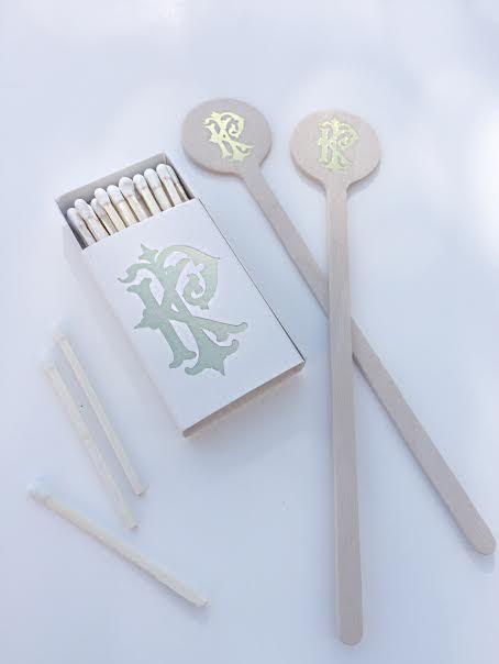 Stir Sticks, Wedding Stir Sticks, Custom Stir Sticks, Foil Stir Sticks, Cocktail…