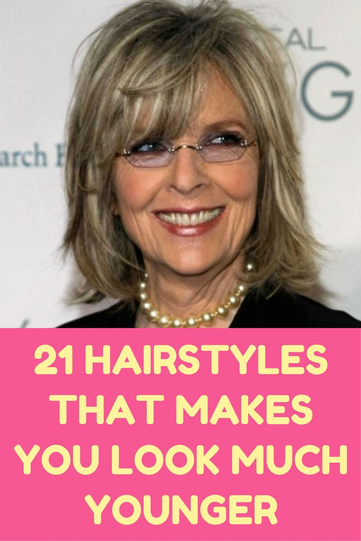 21 Hairstyles That'll Make You Look 10 Years Younger (Slideshow)#hairstyles #slideshow #thatll #years #younger