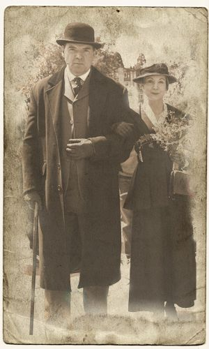 Bates and Anna, love the old tin type look.