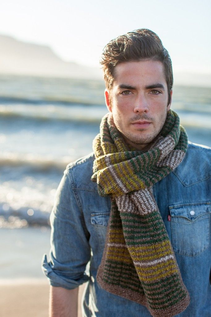 Brooklyn Tweed (Jared Flood) + Stephen West... well this is a scarf but still cool!