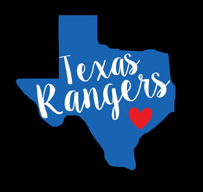 A personal favorite from my Etsy shop https://www.etsy.com/listing/487253090/texas-rangers-decal-texas-rangers-texas