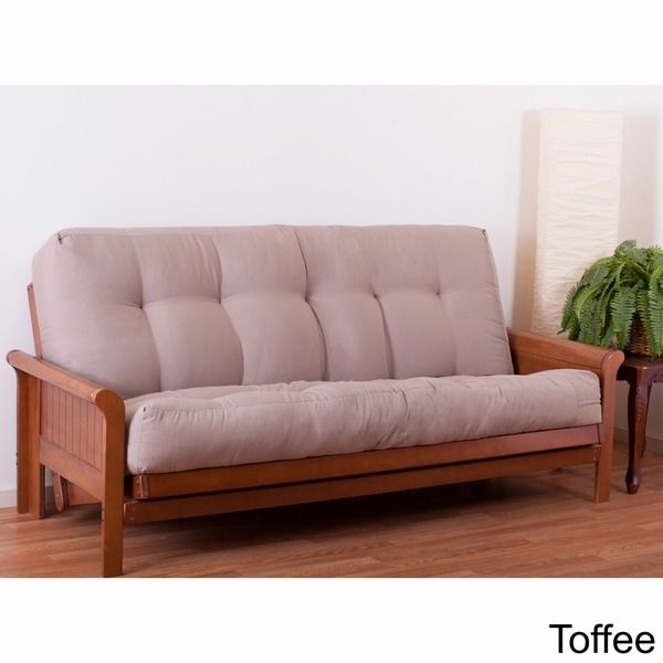 Add a contemporary look to your home office, study or spare bedroom with this Blazing Needles full-size futon mattress. This f ull-size futon mattress is fashionable and functional. It is also made wi